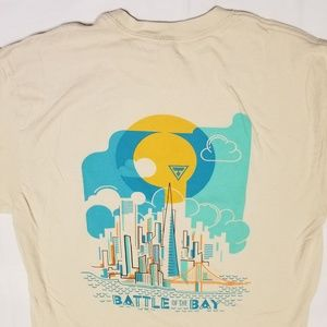 Battle of the Bay T-shirt size Small Next Level